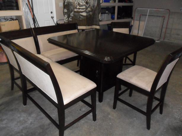 Unique High End Table Chairs And Bench Set North Nanaimo Nanaimo