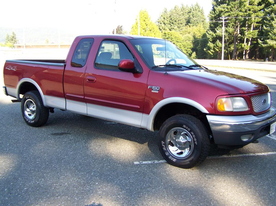 2001 Ford F 150 Xlt Supercab 4 Door 4x4 Outside Comox