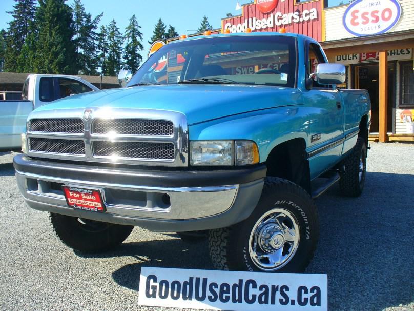 1996 dodge ram 2500 diesel 4x4 rare truck outside. Black Bedroom Furniture Sets. Home Design Ideas