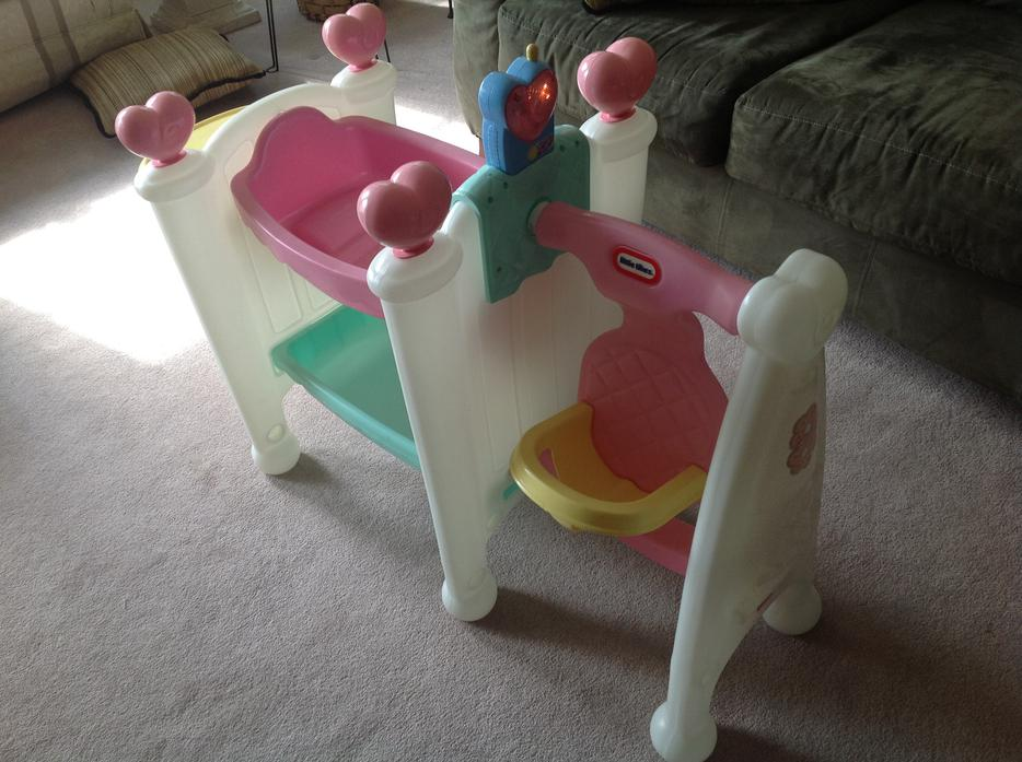 Little Tikes Cradle Swing Highchair With Talking