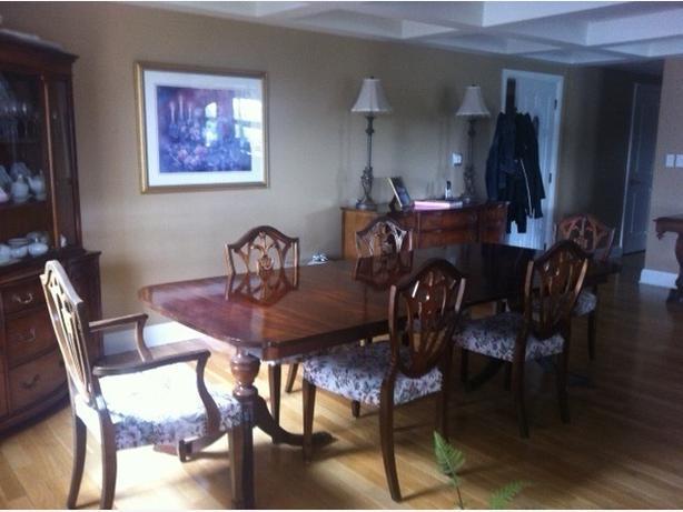 Vintage Duncan Phyfe Mahogany Dining Room Set Nepean Ottawa
