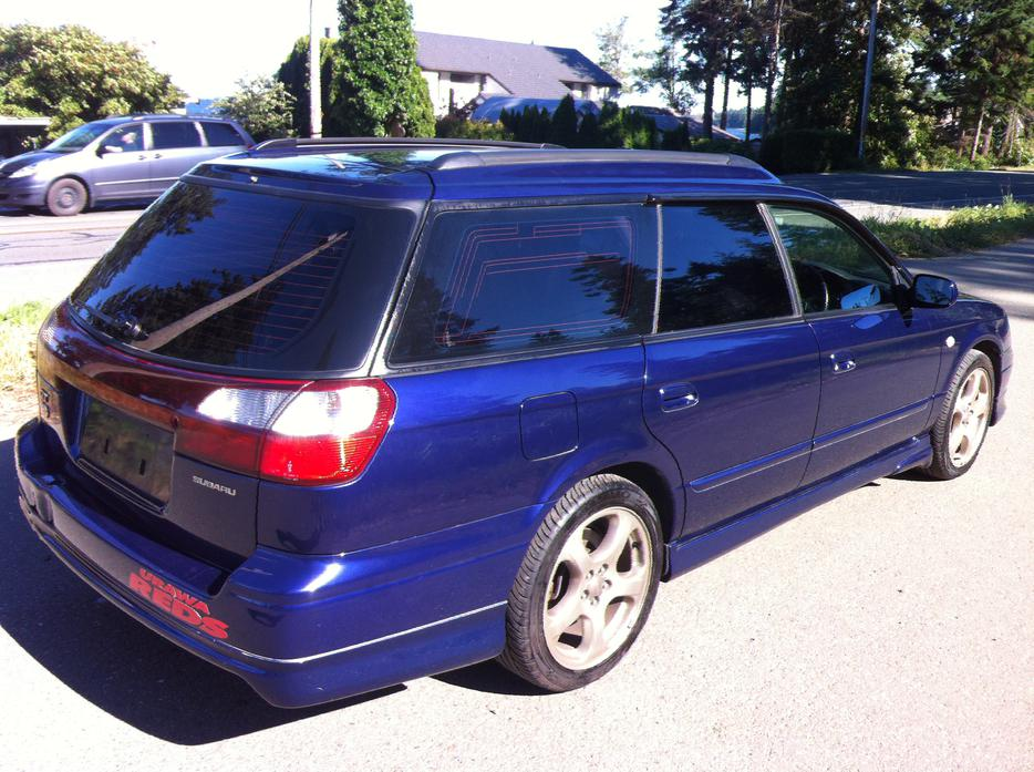 1999 subaru legacy wagon gt twin turbo awd courtenay. Black Bedroom Furniture Sets. Home Design Ideas
