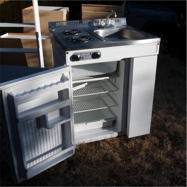 Fridge, Stove, Sink For Sale