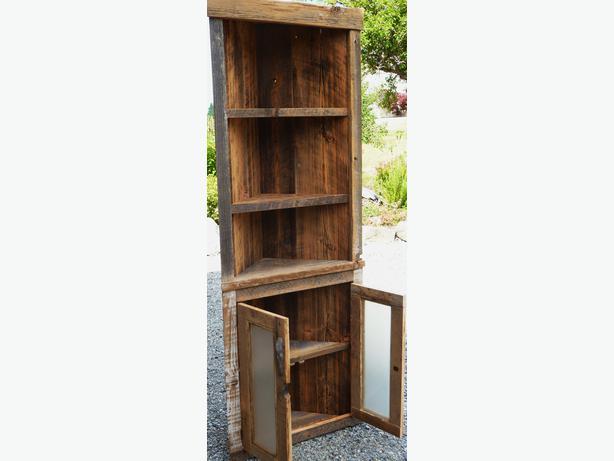 Barnwood Corner Cabinet Cowichan Bay Cowichan Mobile