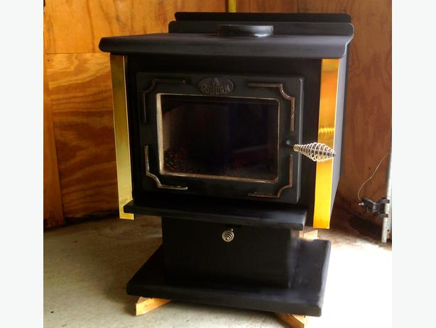 how to clean a wood burning stove exterior