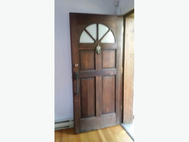 36 inch clear wood exterior door malahat including shawnigan lake mill bay victoria