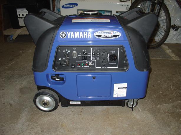 Yamaha ef3000ise generator outside ottawa gatineau area for Yamaha ef3000ise inverter generator