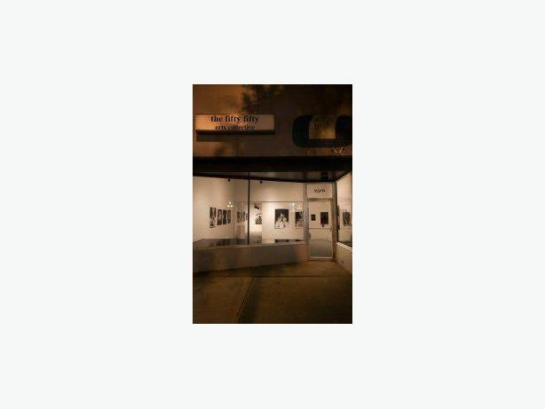 Art Gallery Sitters - the fifty fifty arts collective (Victoria)