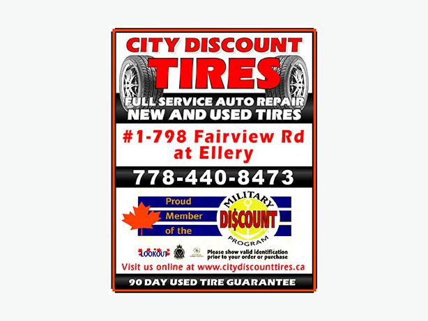 fe79b80bd We Buy, Sell and Trade TIRES Esquimalt & View Royal, Victoria