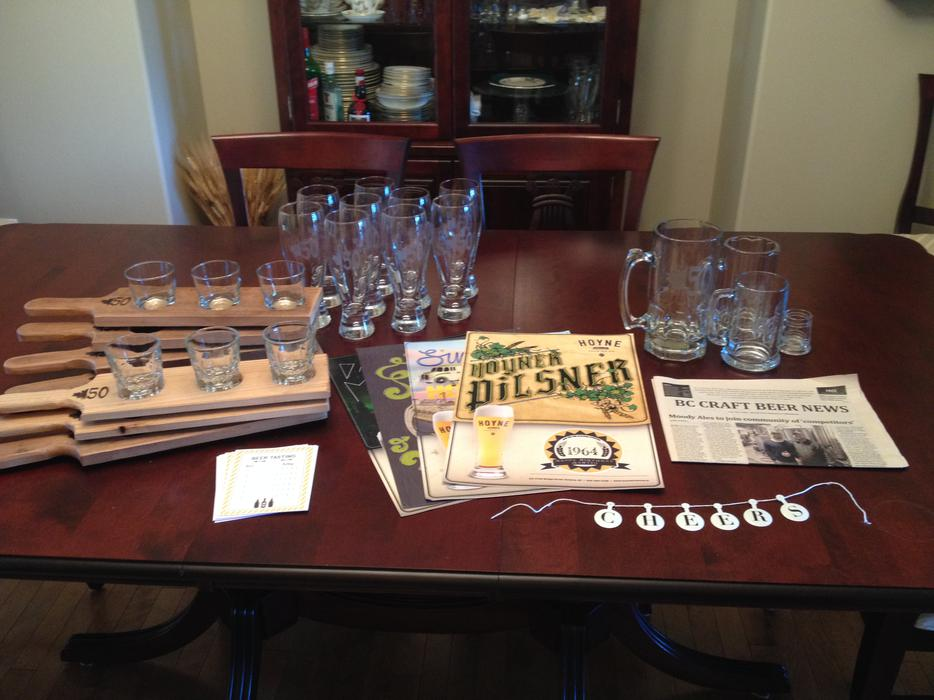 50th birthday beer tasting party package saanich victoria for 50th birthday decoration packages