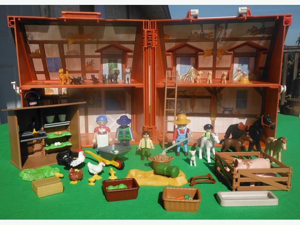 Playmobil Take Along Farm Playmobil Take Along Farm Barn