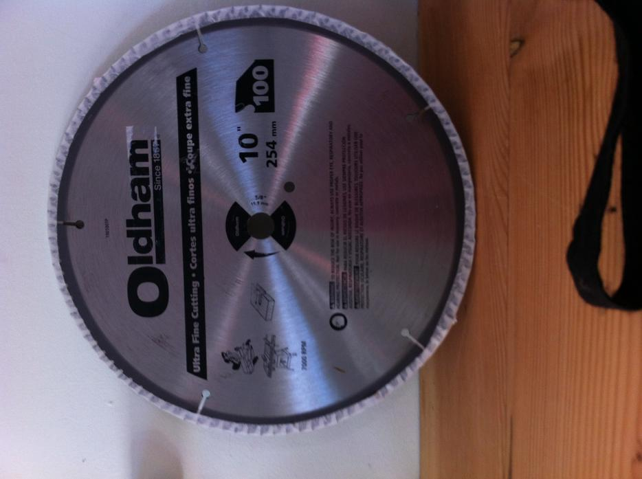 Brand new table saw blade oldham 10 inch victoria city for 10 inch table saw blades