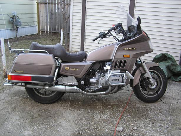 1984 honda goldwing interstate moose jaw, moose jaw