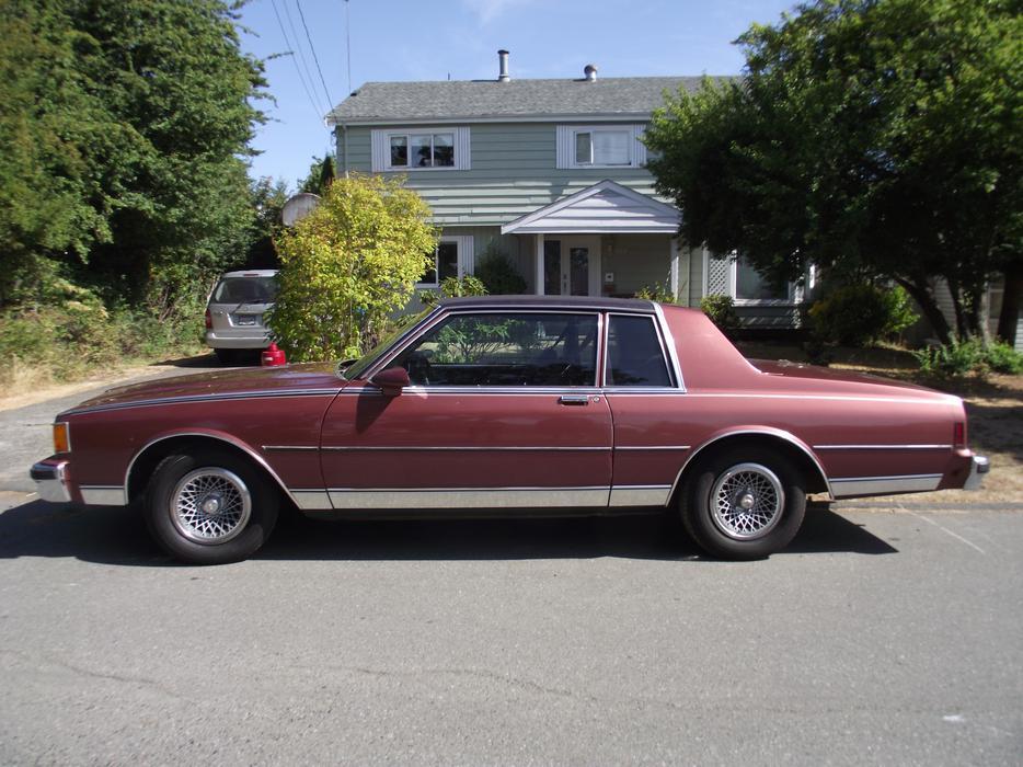 1986 Chevy Caprice Classic 2 Door Saanich Victoria