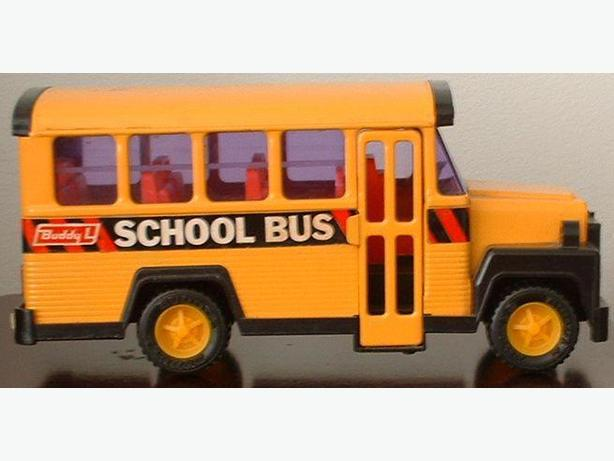 Buddy L Model No 49 502 Metal Yellow School Bus 1970s
