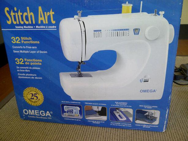 Omega Sewing Machine BBTcom Dinocro Awesome Omega Stitch Art Sewing Machine