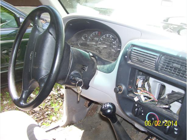 Ford Ranger Mazda B2300 dash guages ignition switch console steering