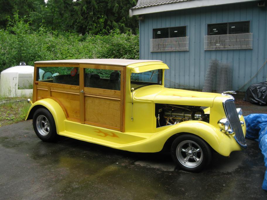 1934 Ford Woody Wagon Custom Outside Victoria Victoria