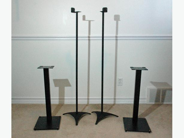 Atlantic Satellite Speaker Stands Home Theatre Speaker Stands