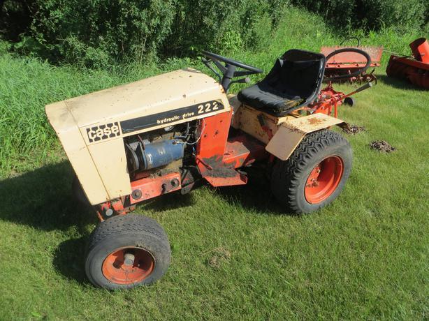 Case Garden Tractor 222 Other South Saskatchewan Location