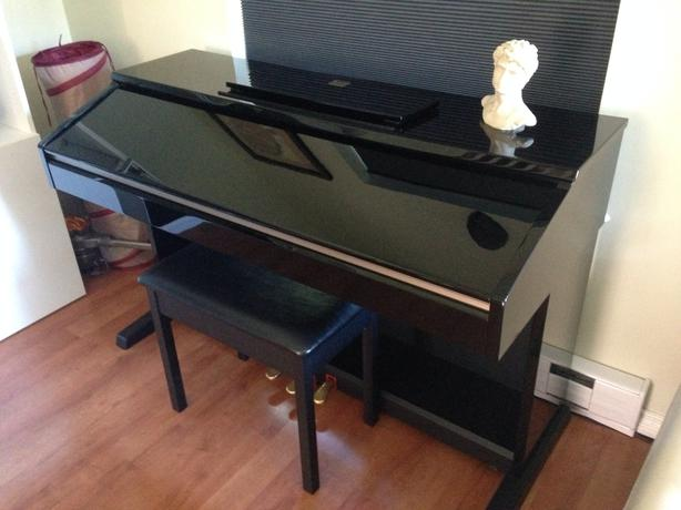 Yamaha clavinova cvp 401 digital piano west shore for Used yamaha clavinova cvp for sale
