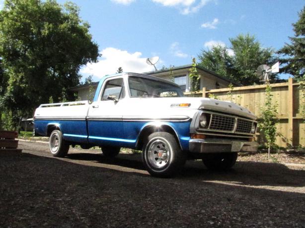 1970 ford ranger f 100 pick up truck rural regina regina. Black Bedroom Furniture Sets. Home Design Ideas