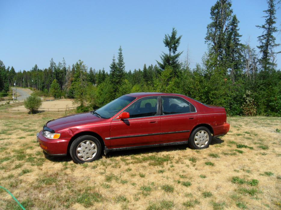 1996 honda accord great condition 2nd owner nanoose for Used car commercial 1996 honda accord