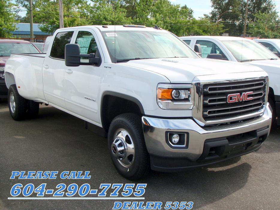 2015 Gmc Sierra Sle 3500 Crew Diesel Dually 973 Per