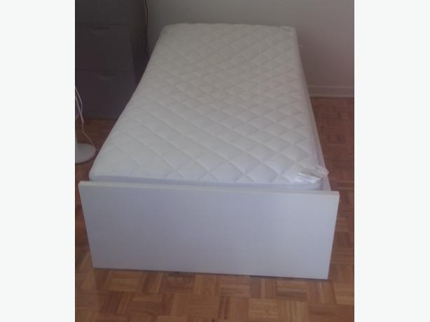 Ikea Leksvik Kinderbett Nachfolger ~ IKEA one person bed frame; The 2 large drawers give you extra storage
