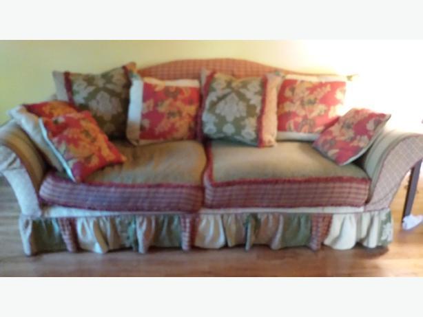 chintz and co sofa chair and a half north regina regina