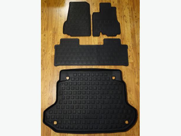 honda cr v custom fit rubber floor mats 2002 06 west. Black Bedroom Furniture Sets. Home Design Ideas