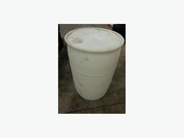 205L White Plastic Drums