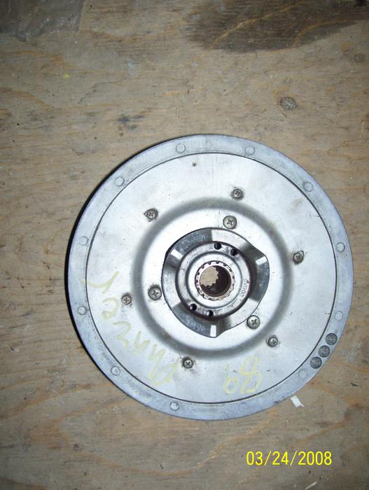 Pulleys Nanaimo : Yamaha phazer venture secondary clutch driven pulley