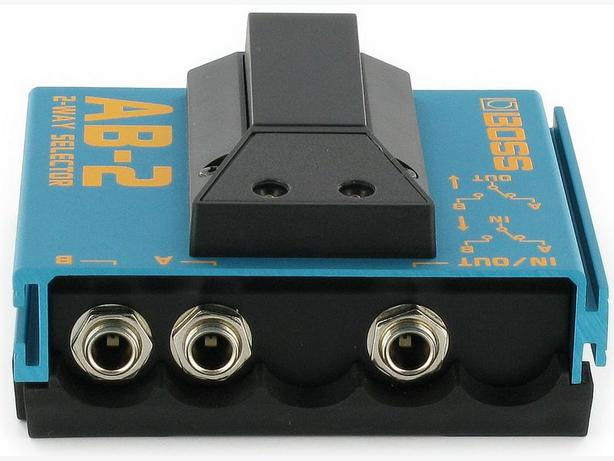 BOSS AB-2 2-way selector switch for guitar/bass/keyboard Saanich ...
