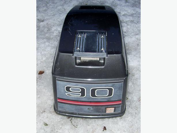 Force outboard 90 HP hood cowl lid engine shroud