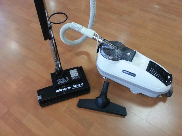 Miracle Mate Vacuum With Sebo Commercial Power Head