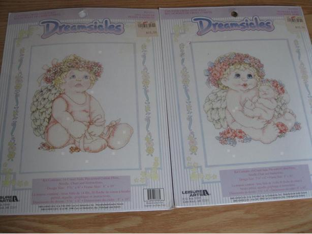2 BRAND NEW Dreamsicles Counted Cross Stitch sets