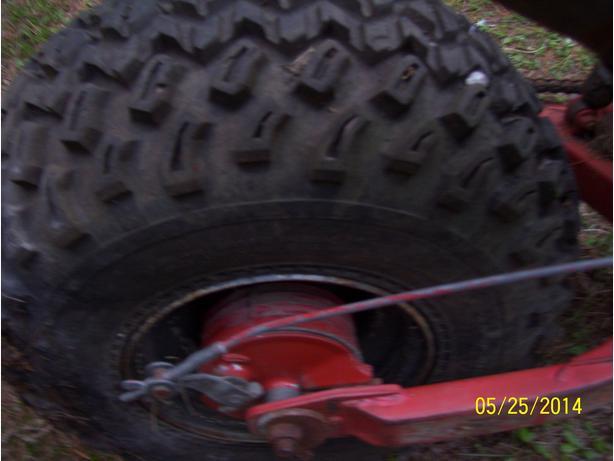 Yamaha Bw Rear Tire