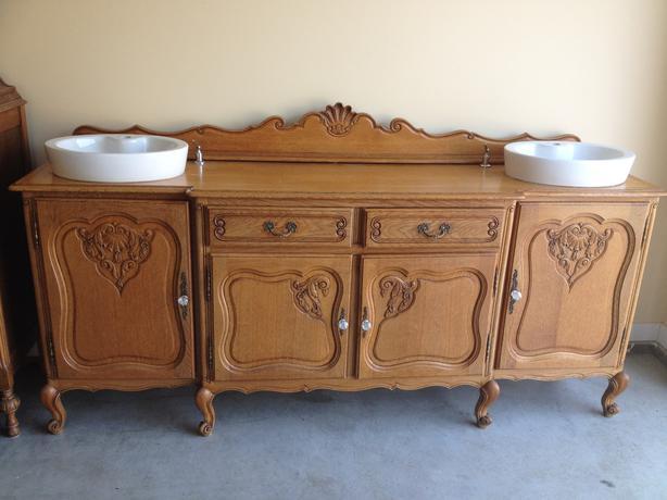 Original Bathroom Vanity Central Saanich Victoria