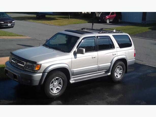 2000 toyota 4runner limited suv 4x4 v6 3 4l nepean ottawa. Black Bedroom Furniture Sets. Home Design Ideas