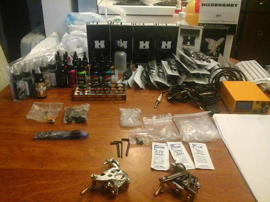 Tattoo machines and supplies victoria city victoria for Classified tattoo supply