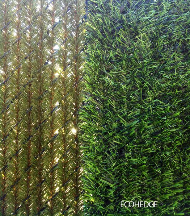 Ecohedge 10 X6 Green Privacy Hedge Panels For Chain Link