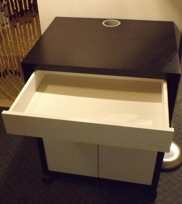 Ikea printer stand that could also be used as a great for Microwave table ikea