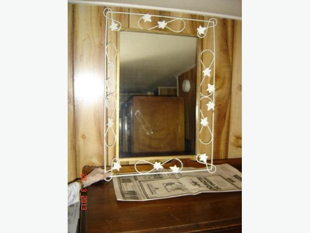 Antique Ivy Vine Frame Mirror