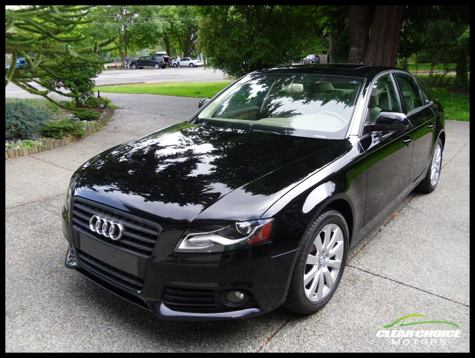 2009 audi a4 2 0t quattro premium plus central saanich. Black Bedroom Furniture Sets. Home Design Ideas