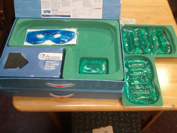 Partial Reuseable Heat Pack Set (REDUCED $25.00) ONLY 4 LEFT