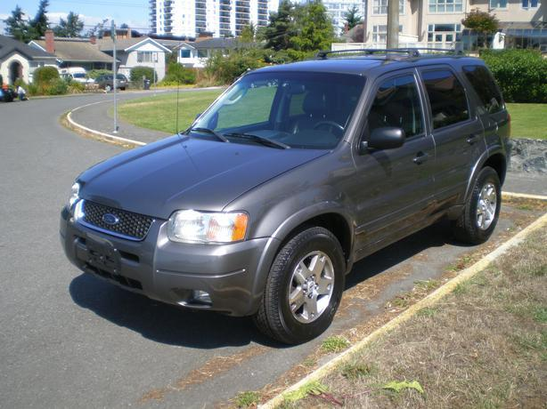 2003 ford escape limited 4x4 automatic mint condition. Black Bedroom Furniture Sets. Home Design Ideas