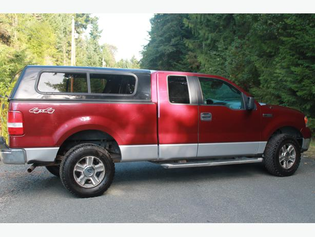 2005 ford f150 for sale in parksville parksville parksville qualicum beach. Black Bedroom Furniture Sets. Home Design Ideas