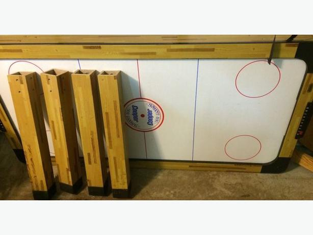 Wooden Cooper Air Hockey Table