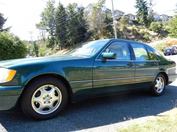 1997 mercedes benz s320 obo west shore langford colwood for 1997 mercedes benz s320